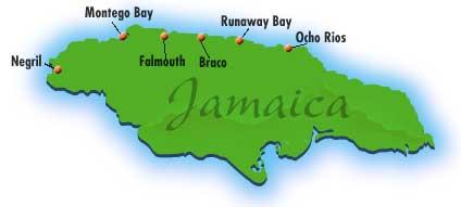 Goawaytravel montego bay map of jamaica gumiabroncs Choice Image