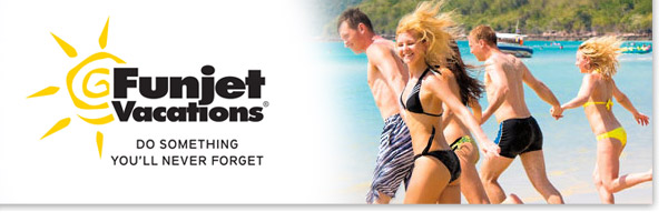 book with Funjet Vacations