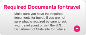 Required Documents for Travel
