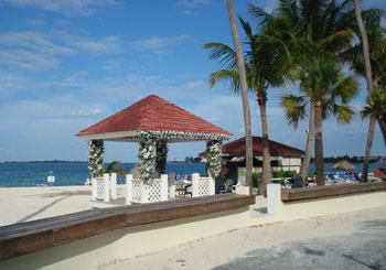 Breezes Bahamas Wedding Gazebo